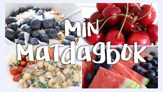 What I eat in a day ♡ Vad jag äter en vanlig dag [VEGAN]