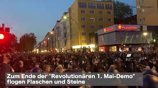 """Unschönes Ende der """"Revolutionären 1.Mai - Demo"""" 2019"""