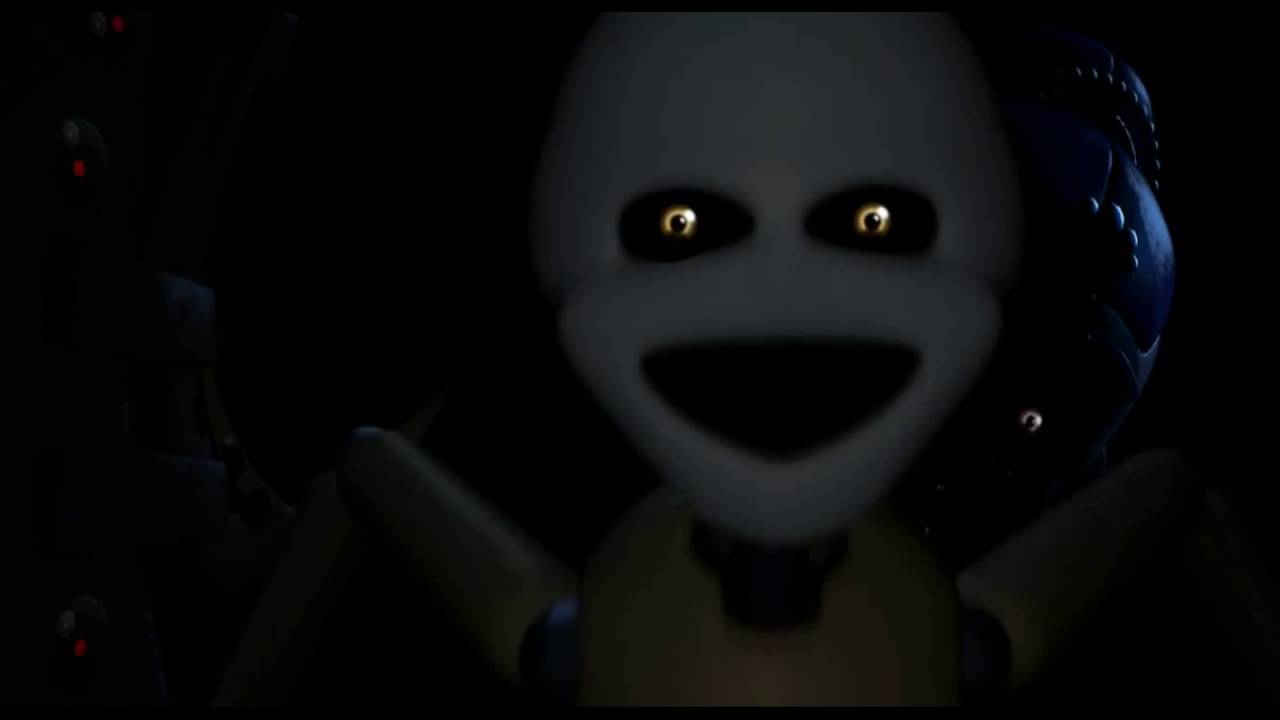 Fnaf Sister Location Gameplay Night 4 Complete Attacked By Minireena S Youtube