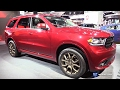 2017 Dodge Durango V8 Gt   Exterior And Interior Walkaround   2017 Detroit Auto Show