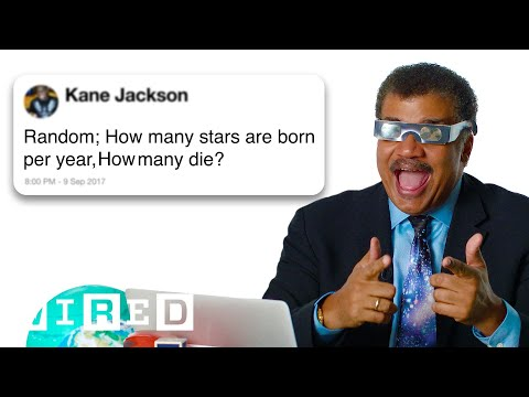 Neil deGrasse Tyson Answers Science Questions From Twitter | Tech Support | WIRED