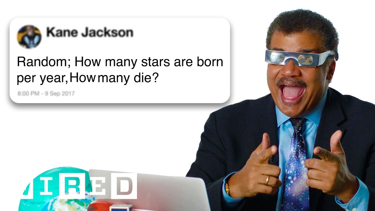 Download Neil deGrasse Tyson Answers Science Questions From Twitter | Tech Support | WIRED