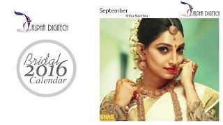 Cover images Alpha Digitech Bridal Calendar Photo Shoot 2016 September   Rithu Manthra