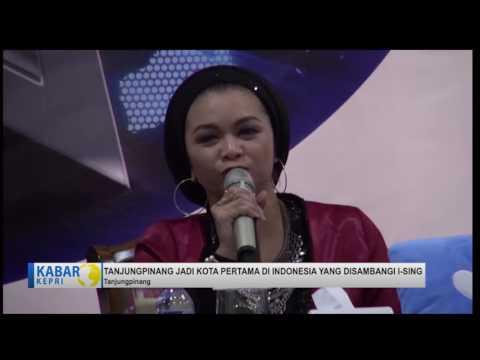 TV KEPRI BERITA.  i-Sing sambangi Tanjungpinang