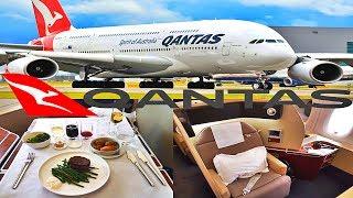 Qantas First Class Flight Experience|A380