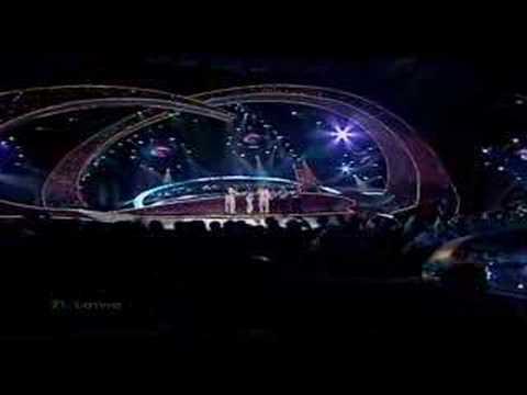 F.L.Y. - Hello From Mars - Latvia 2003 Eurovision