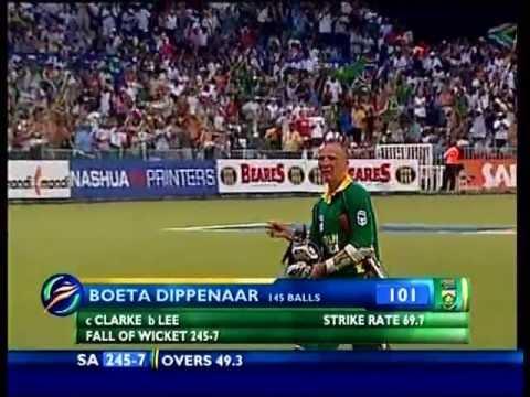 Boeta Dippenaar 101 vs Aus 2006