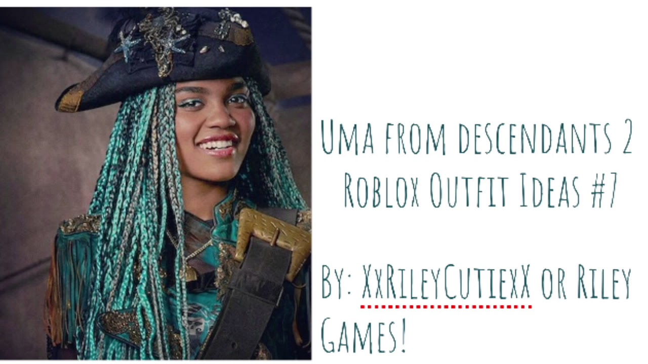 Uma From Descendants 2||Roblox Outfit Ideas #7 - YouTube