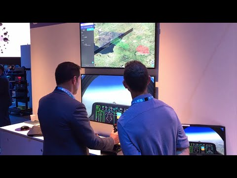 Common Generated Forces demo at InnovDays 2019 - Thales