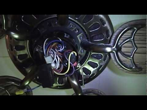 Ceiling Fan Speed Switch Repair Not For Those With Unknown Wiring Youtube