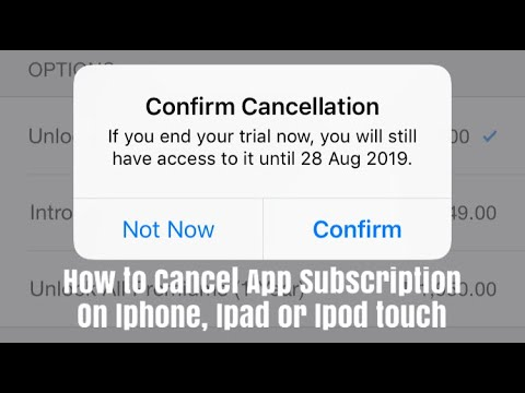 How to Cancel App Subscription on Iphone
