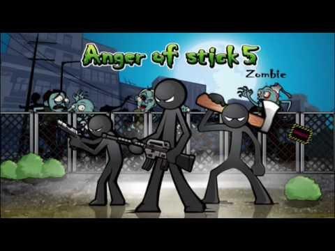 Anger of stick 5 - андроид Геймплей трейлер новый игры на андроид