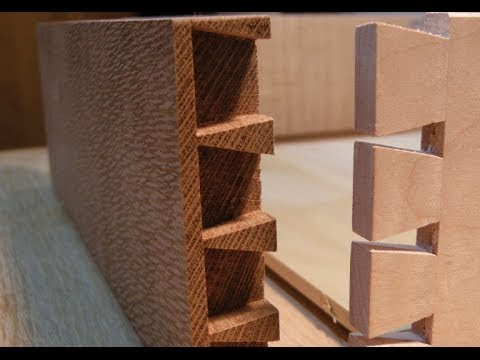The Gentlemans Valet part four Drawer dovetails and glue