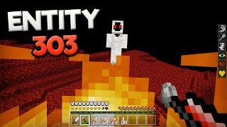 How To Spawn Entity 303 in Minecraft Pocket Edition (Entity 303 Boss Battle)