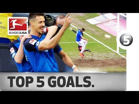 Top 5 Goals - Unbreakable Sandro Wagner
