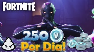Comment suis-je EARNING 250 VBUCKS a DAY jouer Fortnite sauver le monde