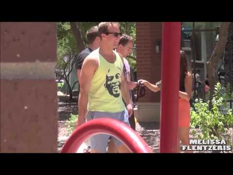 Funny Prank - Melissa Flentzeris, Taking My Panties Off Prank