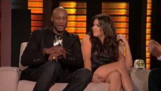 Lopez Tonight - Khloe Kardashian Odom & Lamar Odom Interview - DNA Test & iBoning