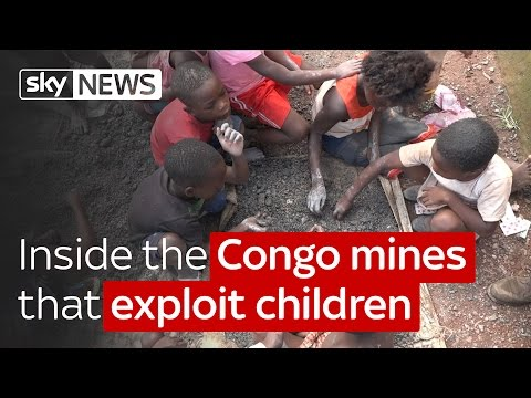Special report : Inside the Congo cobalt mines that exploit children