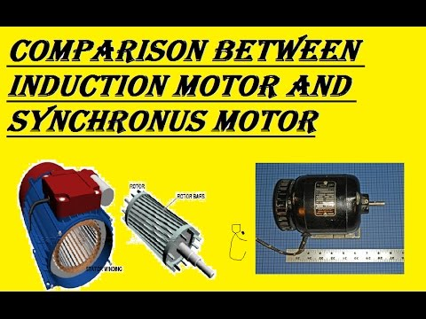 Comparison between Induction Motor And Synchronous Motor