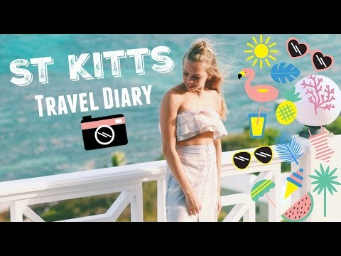 St Kitts & Nevis Travel Diary// volcano hike, snorkeling, and more!