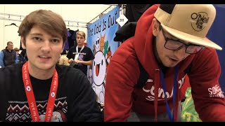 TheOdd1sOut and SomeThingElseYT EXCLUSIVE INTERVIEW at Grand Rapids Comic Con