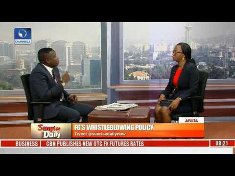 Bwala Says FG To Enact The Whistleblowers Protection Law In Nigeria,Highlights Functions