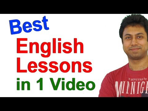 Best Spoken English Lessons in 1 Video   English Speaking Course Online   Awal