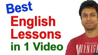 Best Spoken English Lessons in 1 Video | English Speaking Course Online | Awal