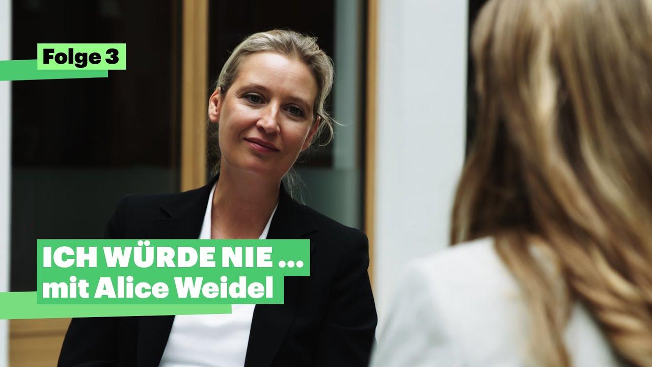 """Download """"Ich würde nie…"""" mit Alice Weidel (AfD)"""