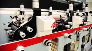 Производство этикеток(Производство этикеток флексопечатным способом. Заказать этикетку можно он-лайн, на нашем сайте http://greentrade.com..., 2012-11-20T15:50:19.000Z)