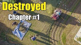 Bermuda Lawn Renovation - Chapter 1 The Destruction