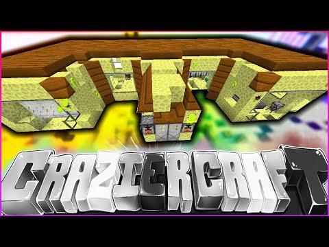 "Minecraft CRAZIER CRAFT SMP - ""DESTROYING OUR HOUSE"" - Episode 81"