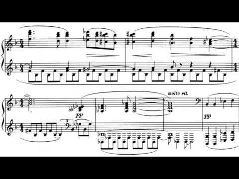 Griffes - Piano Sonata, A.85