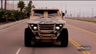 US Army FED: Fuel Efficient Demonstrator Prototype Military Vehicle
