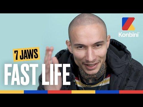 Youtube: 7 Jaws – L'origine de son blaze et sa collab' avec Seezy | Fast Life | Konbini