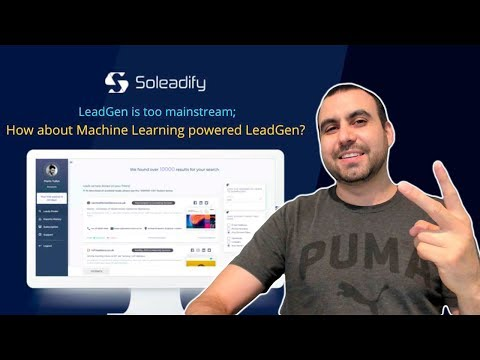 Soleadify Business Leads Finder Lifetime Deal