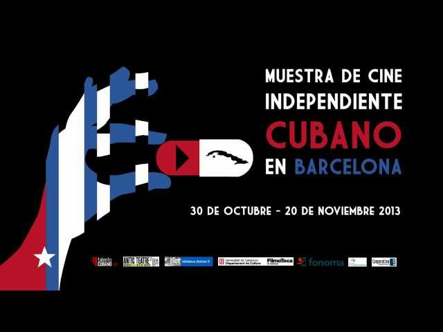 Ad for TV Independent Cuban Film Festival in Barcelona.