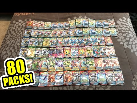 OPENING 80 POKEMON CARD BOOSTER PACKS FROM 20 TINS! - Multiple SECRET RARE PULLS!
