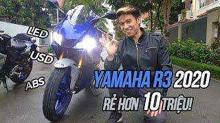 Yamaha R3 2020 - Trùm sportbike phân khúc 300cc