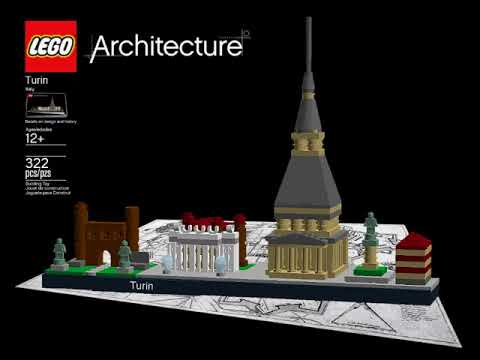 Interview with Katia De Rossi about LEGO Architecture Turin (live on Radio Number One)