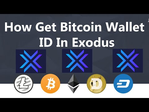 How Get Bitcoin Wallet ID In Exodus | Find My Bitcoin Address
