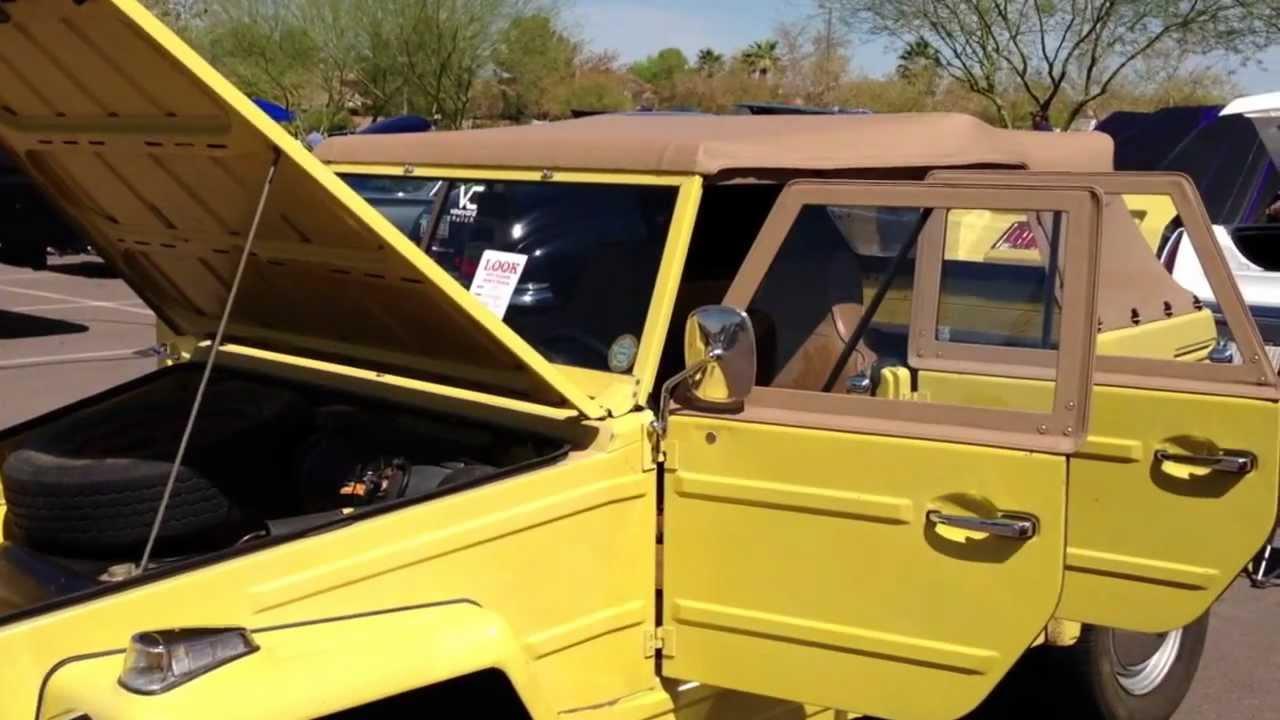 1970 volkswagen thing safari camat trekker type 181 youtube VW Thing Hardtop