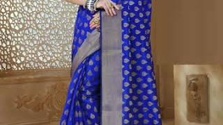 Banarasi pure silk saree design collection...