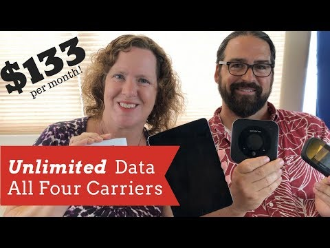 Our Cheap Mobile Internet Update - Unlimited Cellular Data Plans (Response to: CheapRVLiving)