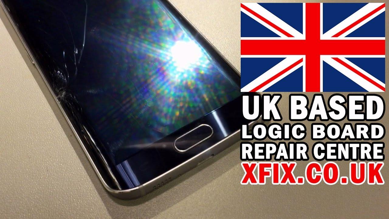 SAMSUNG Galaxy S6 Edge LCD Screen Replacement/Repair Service UK