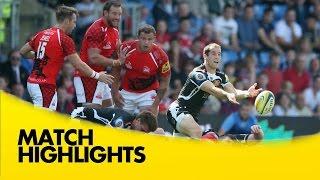 London Welsh v  Exeter Chiefs  - Aviva Premiership Rugby 2014/15