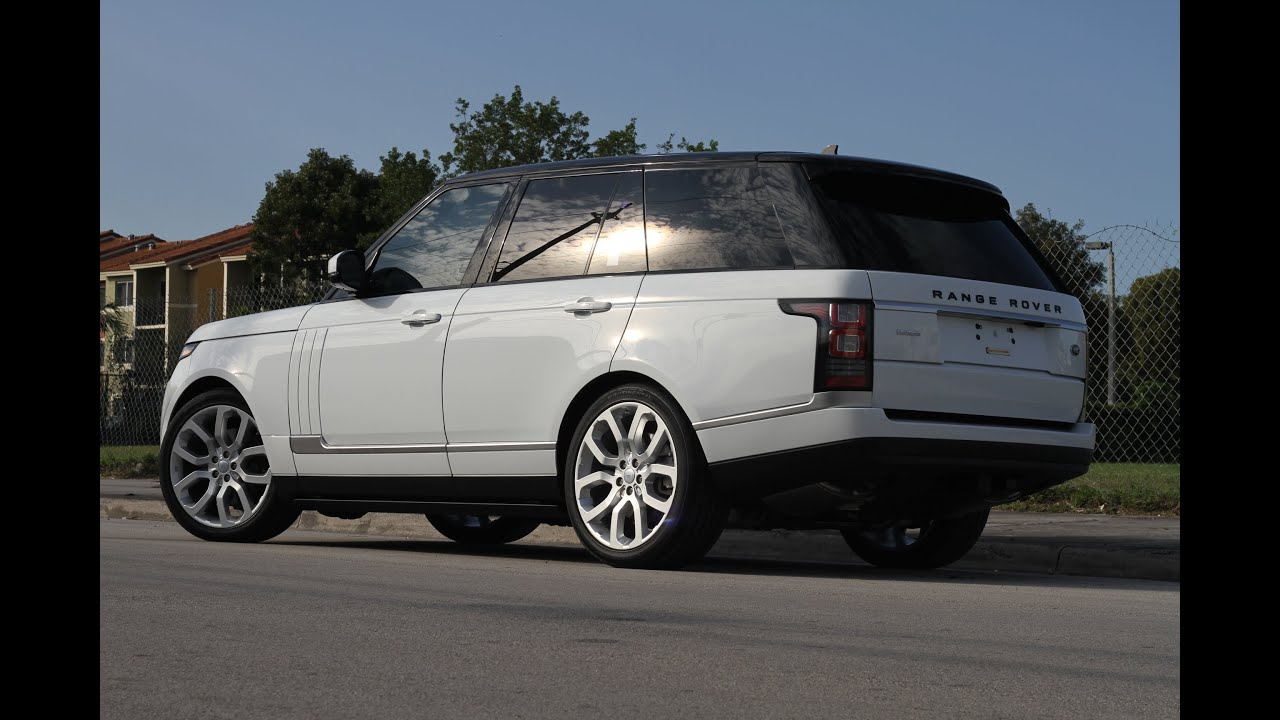 2016 Range Rover HSE Autobiography Ceramic pro by Advanced
