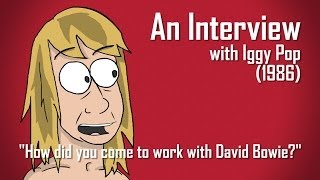 Iggy Pop Recalls First Meeting David Bowie (Radio.com Minimation)
