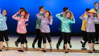 Вьетнамский танец. Школа-Студия. Балет Игоря Моисеева.